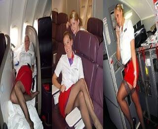 ضبط مضيفة تمارس الرذيلة في حمام طائرة احدى شركات الطيران الخليجية! هذا ما تفعله بعد ان ينام اغلب الركاب!