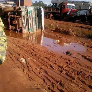 4 Dilapidated Enugu-Onitsha Road (see photos)