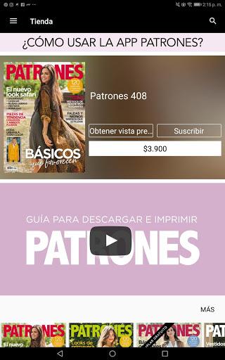 Con esta aplicación puedes descargar la revista en formato digital e imprimir el patrón que te guste de ella en casa