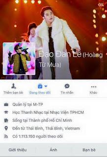 Tài khoản Facebook của Hồ Ngọc Hà bị đổi thành tên khác