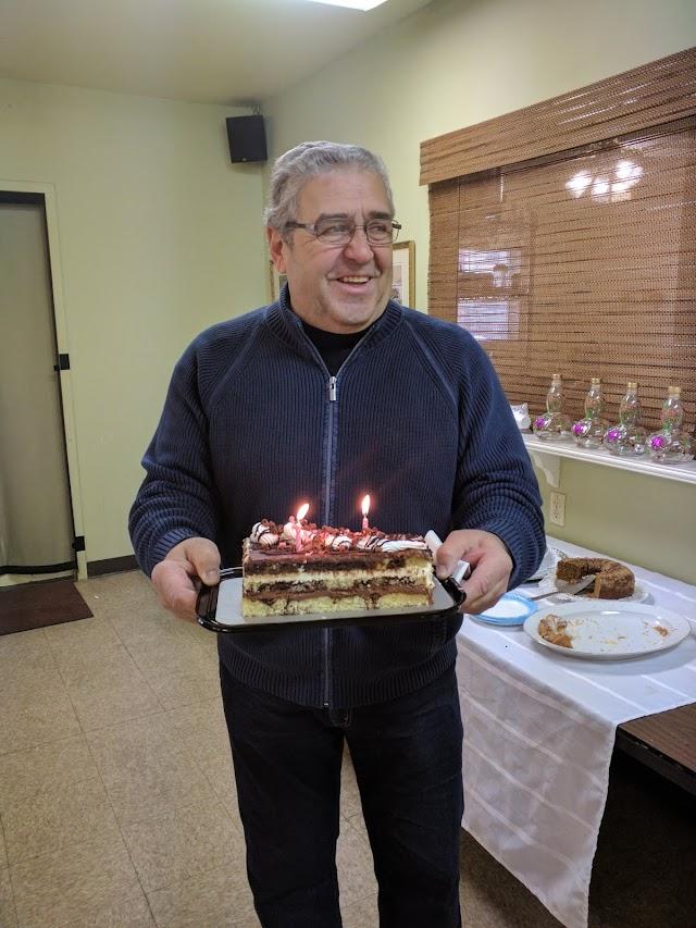 Januári születésnapi köszöntés
