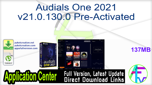 Audials One 2021 v21.0.130.0 Pre-Activated