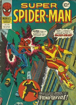 Super Spider-Man #259, the Rocket Racer
