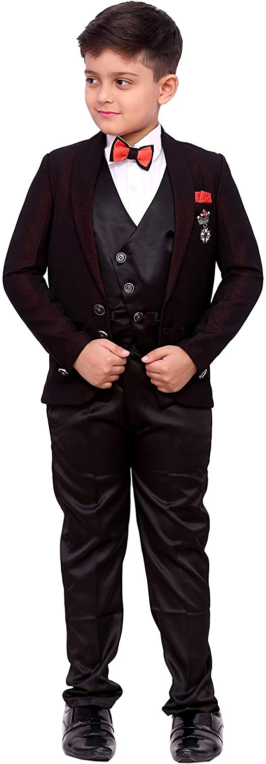 Zolario Boys Slim fit Suit from Colors: Maroon | Age 18 Month - 11 Years.
