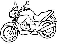 דף צביעה קטנוע