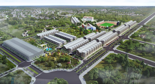 Khu đô thị Vườn Sen Đồng Kỵ Từ Sơn dự án đất nền liền kề shophouse Bắc Ninh