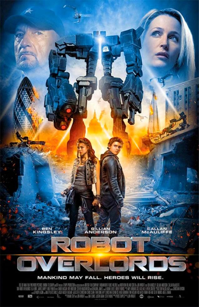 Sinopsis Film Robot Overlords 2015 Gillian Anderson Ben Kingsley