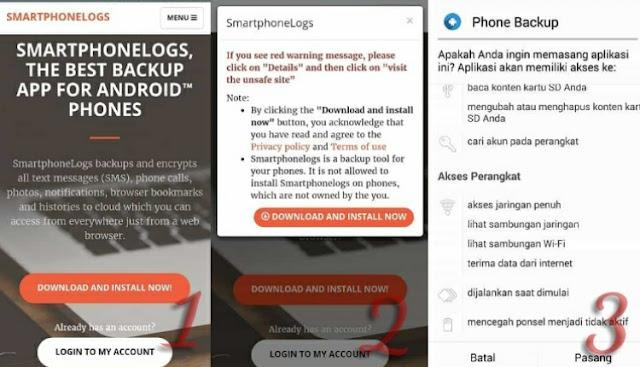 Cara Menyadap Obrolan Chat WA, BBM, SMS dan Telepon