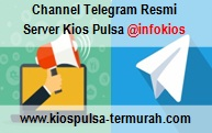 Channel Telegram Resmi Server Kios Pulsa