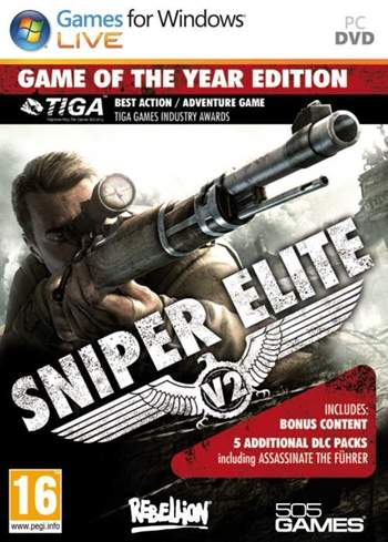 Sniper Elite V2 GOTY PC Full Español