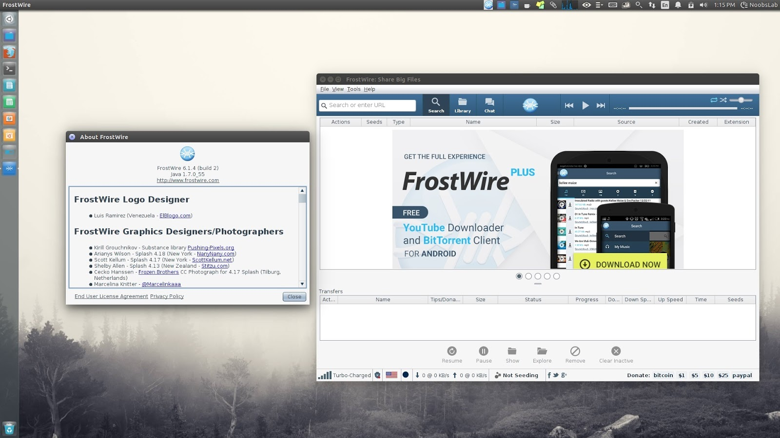 FrostWire: A Great Bittorrent Client To Download Torrents, Videos