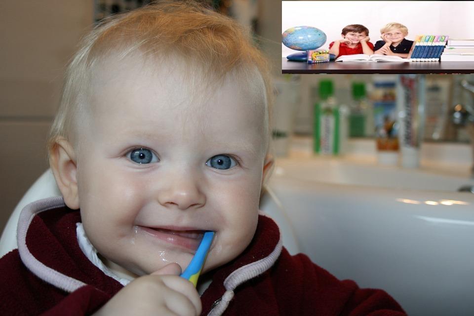 غسيل الأسنان