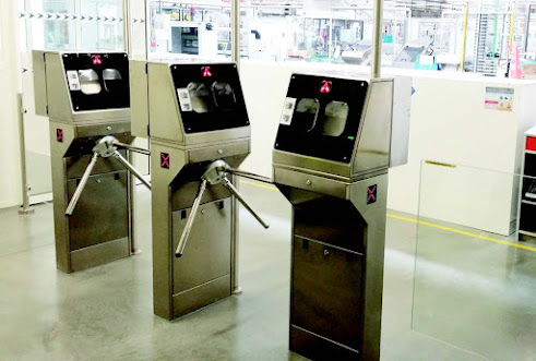 The importance of physical access control in security.