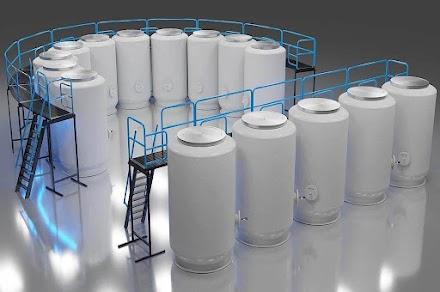 CEO de empresa tenta roubar tanques de criogenia