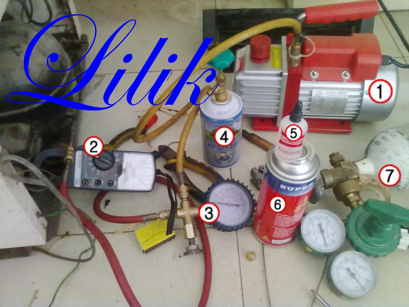Cara Menyambung Pipa Kapiler Kulkas Tersumbat Secara Details