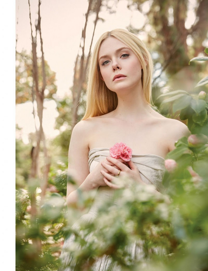 Elle Fanning Featured in Emmy Magazine - May 2020