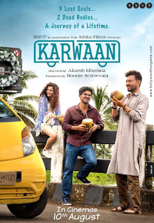 Karwaan (2018) Movie Poster