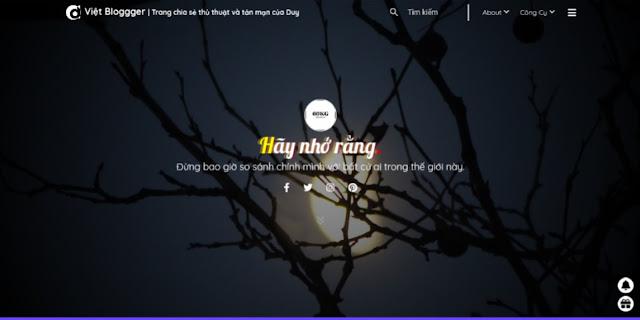 Theme 0286 Blog do Nguyen Luong Duy làm