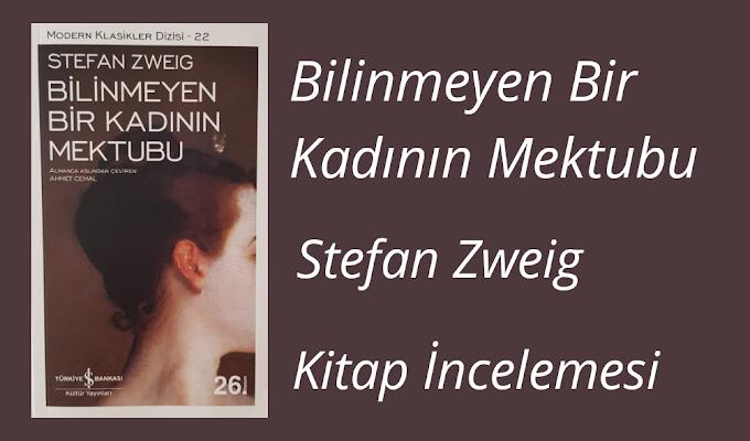 Stefan Zweig- Bilinmeyen Bir Kadının Mektubu