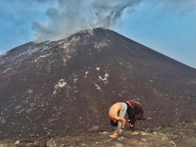 foto anak gunung krakatau