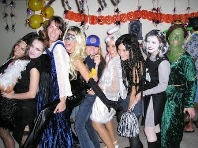 Foto de una fiesta de Halloween