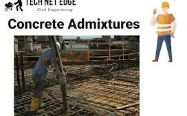 Concrete Admixture | Scope | Uses