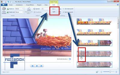 cara memotong video dengan movie maker dengan mudah