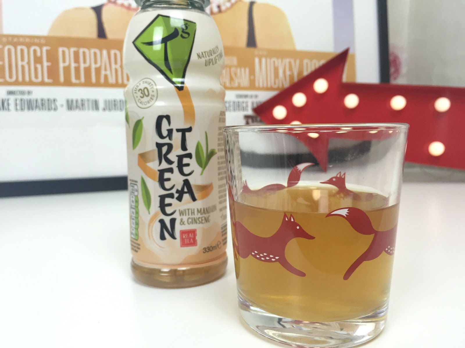 Iced Tg Green Tea - Mandarin and Ginseng