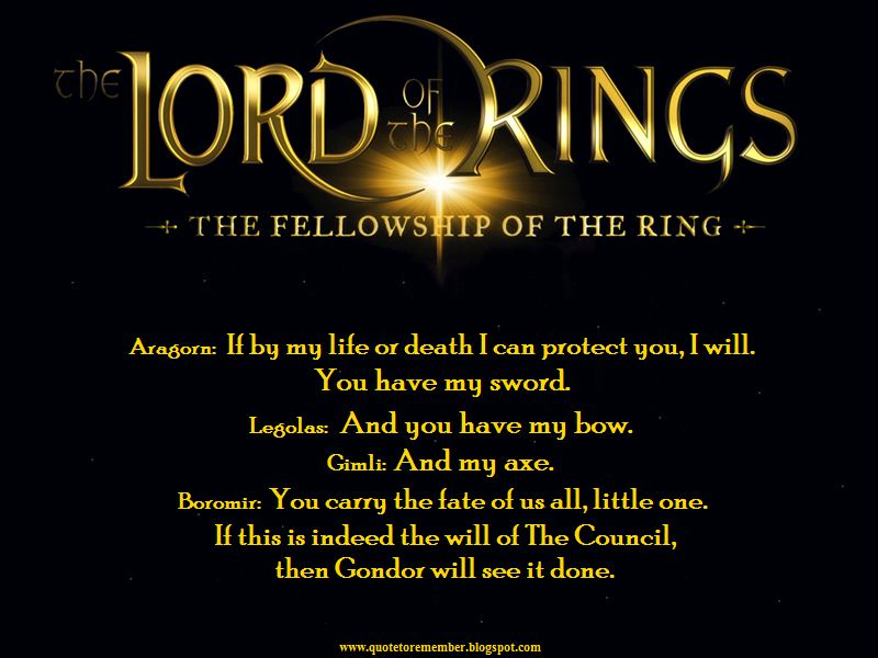 the lord of the rings quotes quotesgram