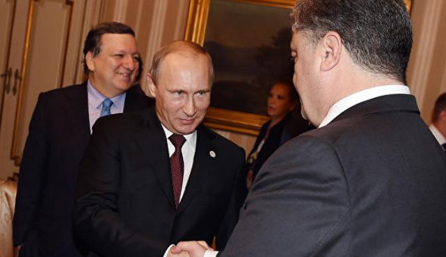 Порошенко обвинили в работе на Путина