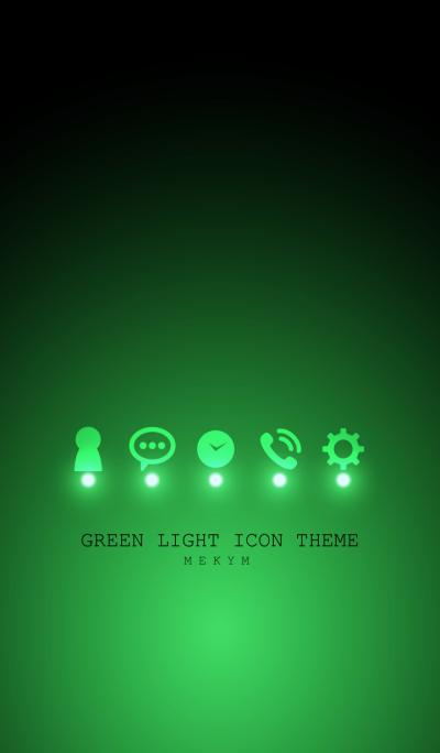 GREEN LIGHT ICON THEME