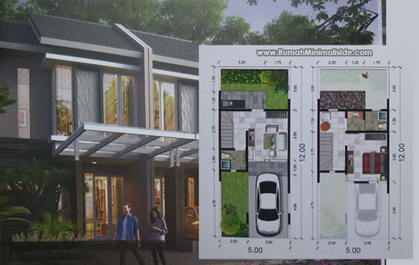 Model Rumah Minimalis Beserta Denahnya