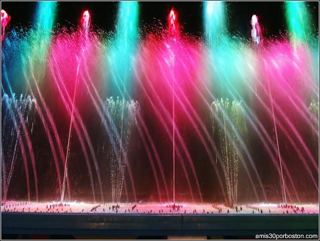 Liquid Fireworks