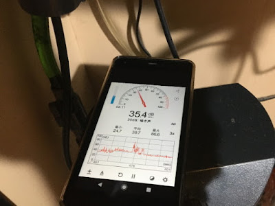 新品水作水心3S音量測定電源ON時
