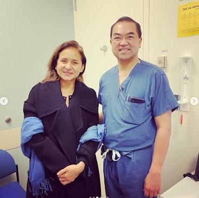 أنقاذ حياة نيللي كريم بعد أجراء عملية جراحية - تشكر الأطباء (شكرا أنقذتوا حياتى)