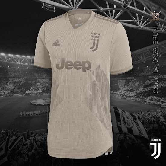 new arrival 554a6 d0c45 Juventus 18-19 Away Kit Concept by Casa Bruni - Leaked ...