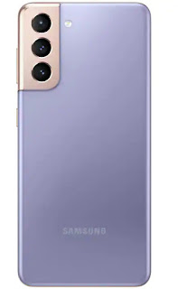 Samsung Galaxy S21 5G on a white Background