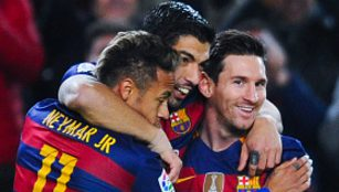 Trio MSN Barcelona vs Valencia 7-0 Video Gol