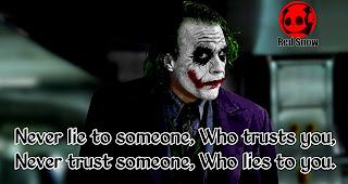 The dark knight joker quotes image