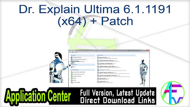 Dr. Explain Ultima 6.1.1191 (x64) + Patch