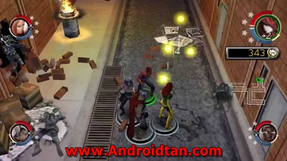 Marvel Ultimate Alliance (USA) ISO PPSSPP Highly Compressed for Android