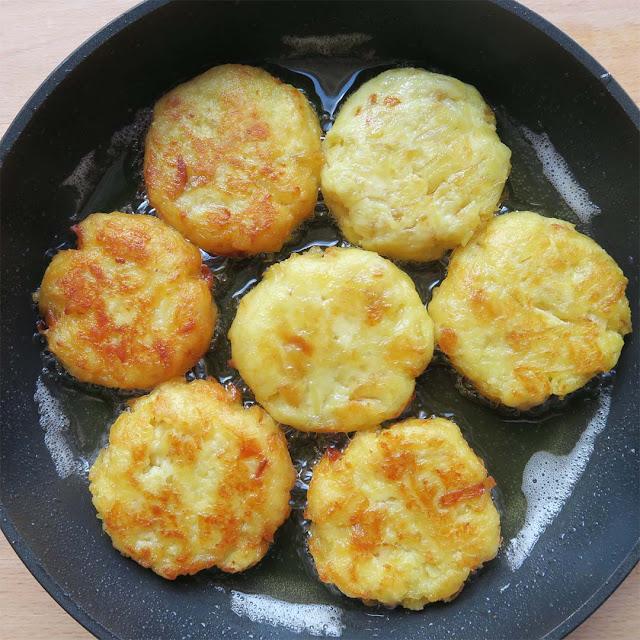 Röstis braten in Erdnussöl | pastasciutta.de
