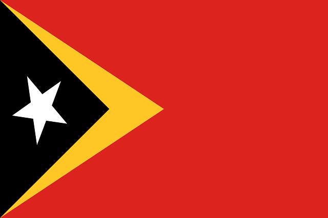 Bendera Timor Leste