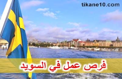 فرص عمل في السويد لأهم الوظائف والطريقة الصحيحة للجوء إلى السويد