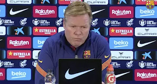 'We need a president. Barca must have a president all the time': Koeman
