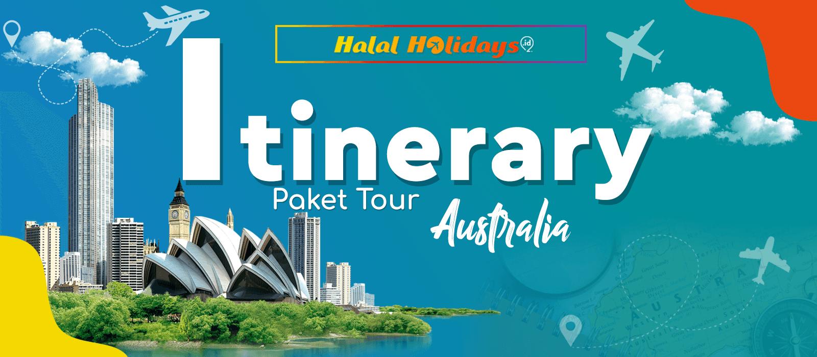 Itinerary Paket Tour Australia 6 Hari