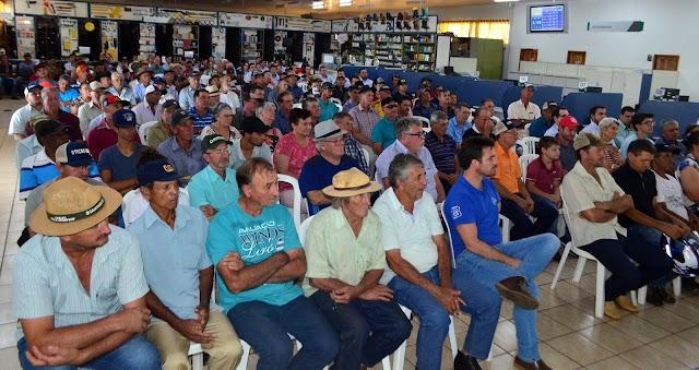 Coamo: Reunião de Campo com a Diretoria 1º Semestre em Roncador