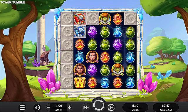 Ulasan Slot Relax Gaming Indonesia - Tower Tumble Slot Online