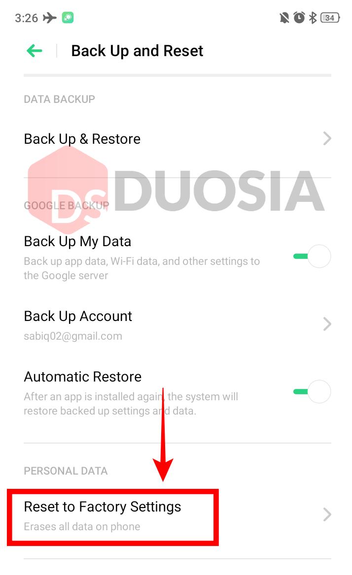 Cara Mengatasi Android Lemot Kembali Ngebut dengan Factory Reset