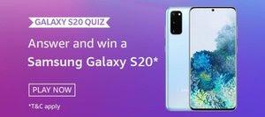 Amazon Galaxy S20 Quiz Answers
